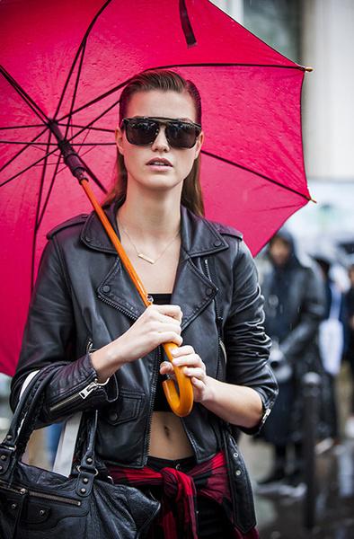 Как одеться в дождь: | галерея [3] фото [6]