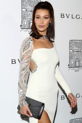 Белла Хадид на вечеринке Bulgari в Нью-Йорке фото [13]