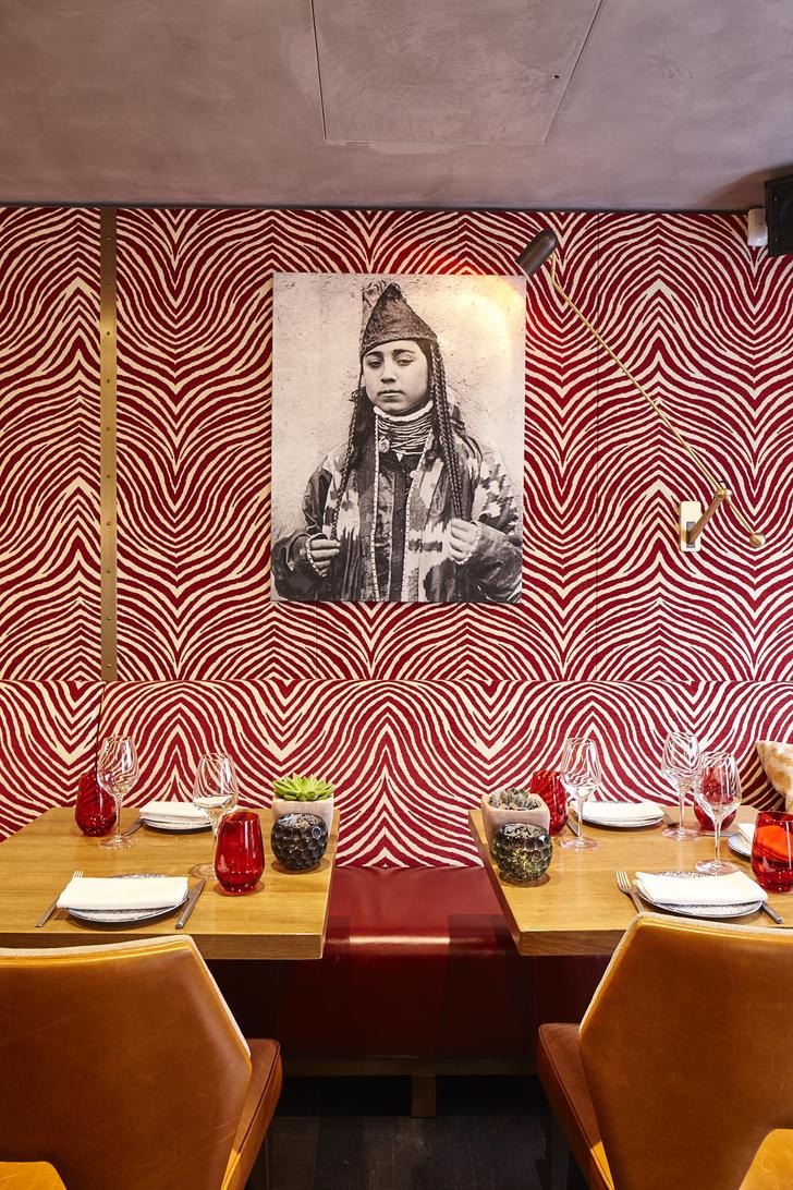 Ресторан OSH в Лондоне: проект Ирины Глик (фото 4)