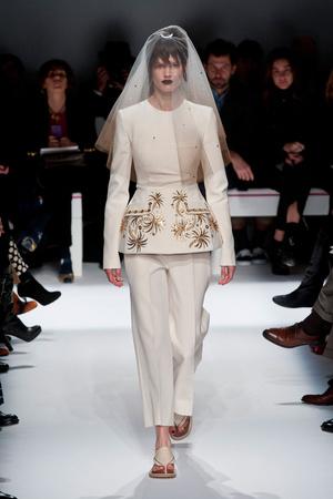 Показ Schiaparelli коллекции сезона Весна-лето 2014 года Haute couture - www.elle.ru - Подиум - фото 574220