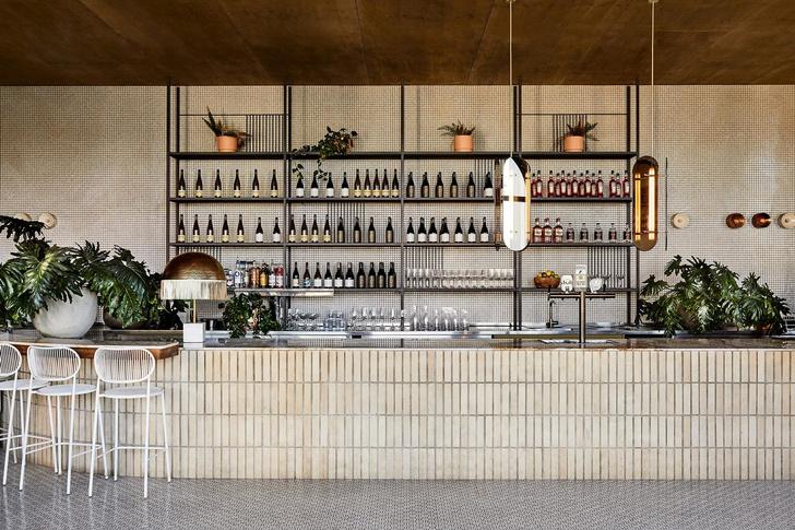 Mid-century гламур: пляжное кафе в Австралии (фото 4)