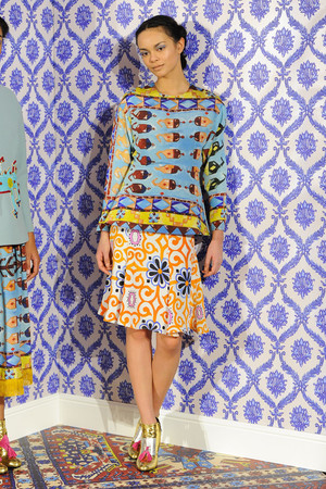 Показы мод Tata-Naka Осень-зима 2014-2015 | Подиум на ELLE - Подиум - фото 3902