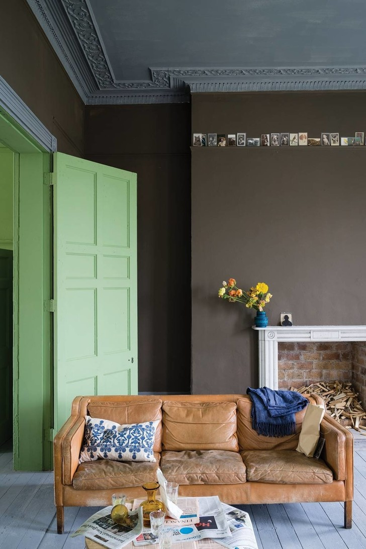 Цветные двери в интерьере: 5 советов (фото 10)