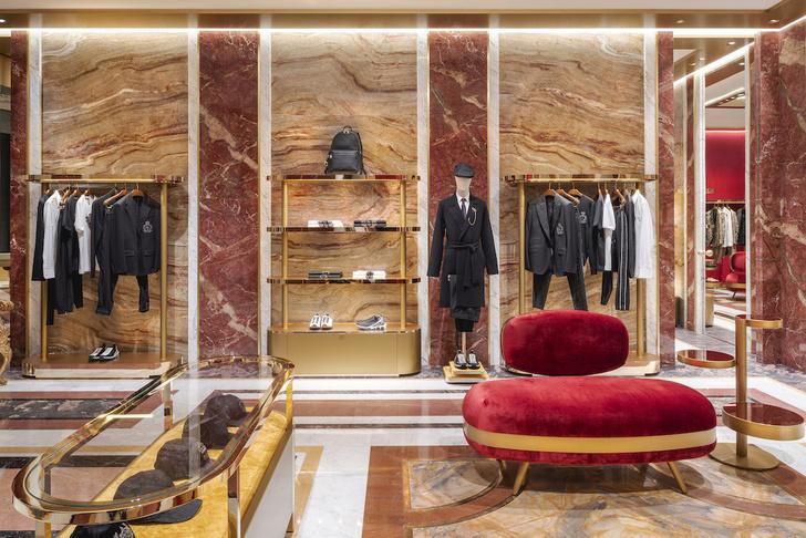 Экстравагантный бутик Dolce&Gabbana в Риме (фото 2)