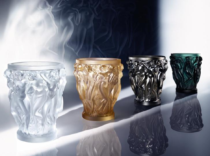 """Вазы Lalique """"Вакханки"""" из новой коллекции доступны в разных размерах и цветах"""