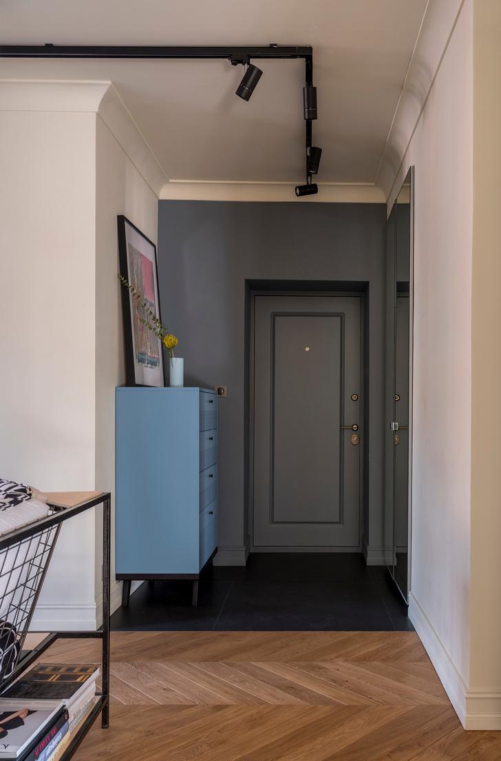 Московская квартира 60 м² с элементами лофта (фото 3)