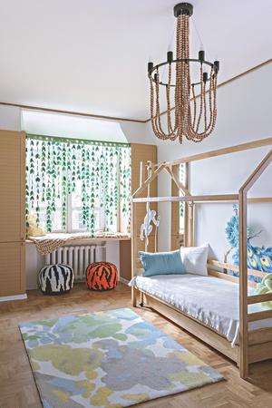 Солнце мое! Лучшие решения для детских от российских дизайнеров (фото 8)