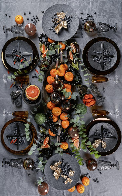 Новогодняя сервировка по мотивам «Зимнего вечера в Гаграх» (фото 4)