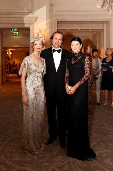 Илзе, Алексей Семеняченко, президент группы компаний «Олимпик Сити», с женой Валентиной