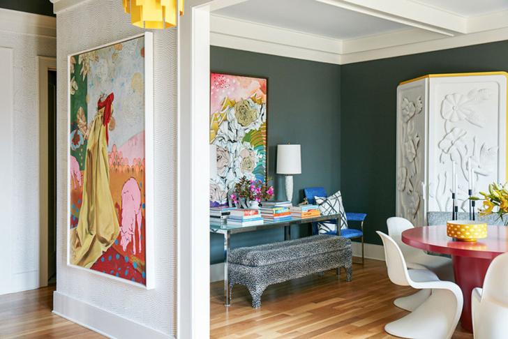 Яркий дом художницы в Джорджии (фото 8)