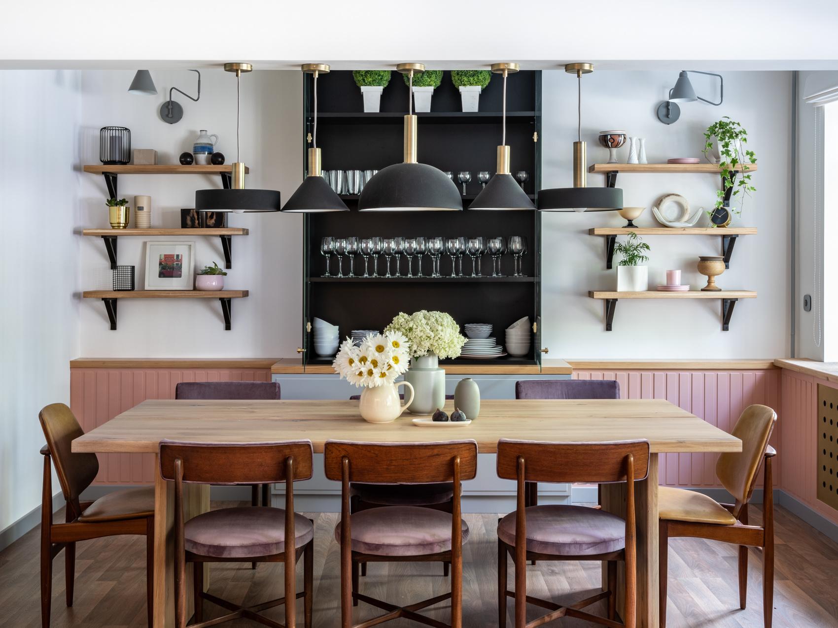 Столовая в квартире: 25 проектов (галерея 0, фото 3)