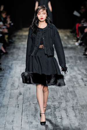 Показ Nina Ricci коллекции сезона Осень-зима 2012-2013 года Prêt-à-porter - www.elle.ru - Подиум - фото 375813