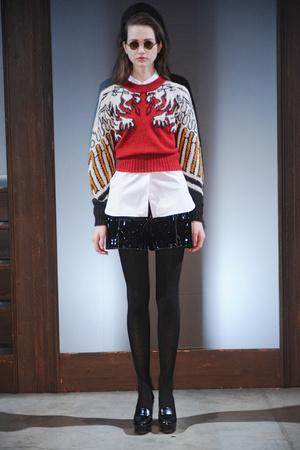 Показы мод Carven Осень-зима 2011-2012 | Подиум на ELLE - Подиум - фото 2186