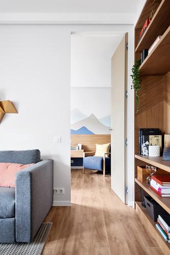 Счастье не за горами: квартира 48 м² по проекту Татьяны Страту (фото 18)