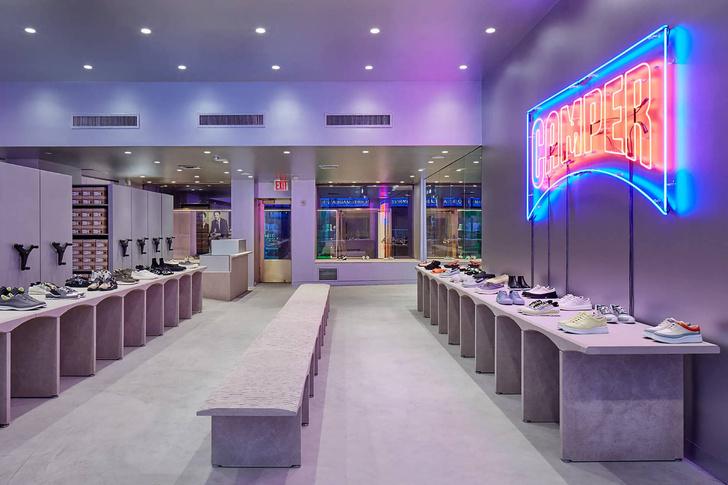 Нью-йоркский бутик Camper по проекту Кенго Кумы (фото 5)