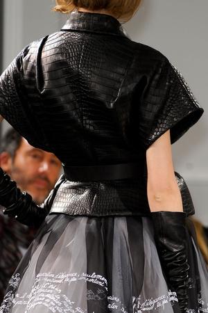 Показ Christian Dior коллекции сезона Весна-лето 2012 года Haute couture - www.elle.ru - Подиум - фото 330812