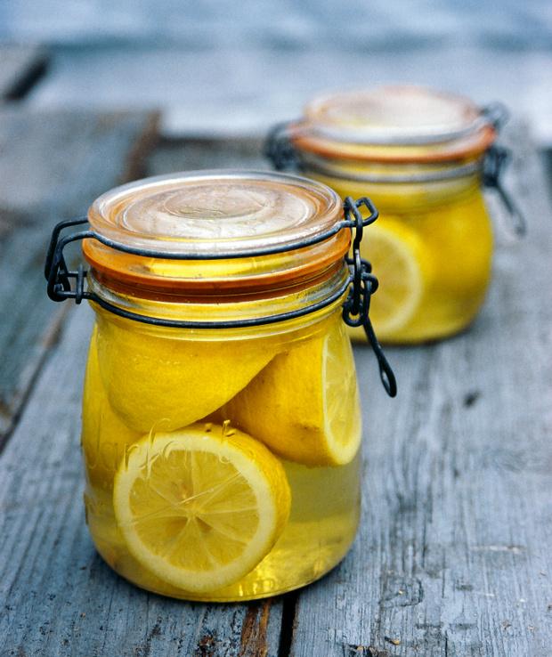 Консервированные лимоны