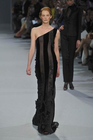 Показ Christophe Josse коллекции сезона Осень-зима 2009-2010 года Haute couture - www.elle.ru - Подиум - фото 87370