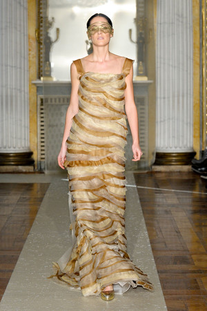 Показ Luisa Beccaria коллекции сезона Осень-зима 2011-2012 года Prêt-à-porter - www.elle.ru - Подиум - фото 243430