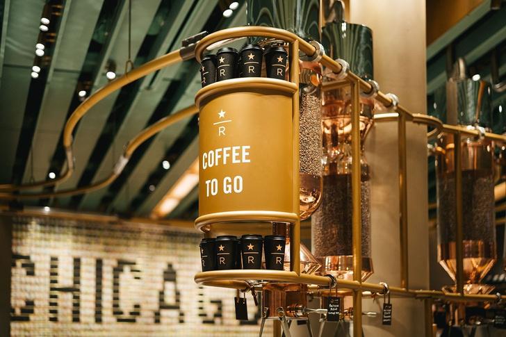 Самый большой Starbucks открылся в Чикаго (фото 5)