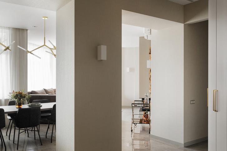 Солидная квартира 123 м² с яркими деталями (фото 9)