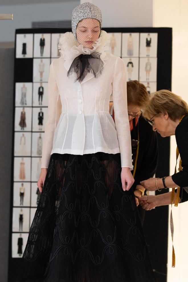 За кулисами: как создавалась кутюрная коллекция Dior SS 2019 (фото 5)