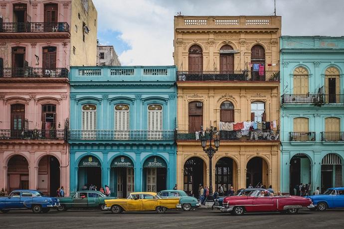 Автопрогулка по Гаване на ретромобиле