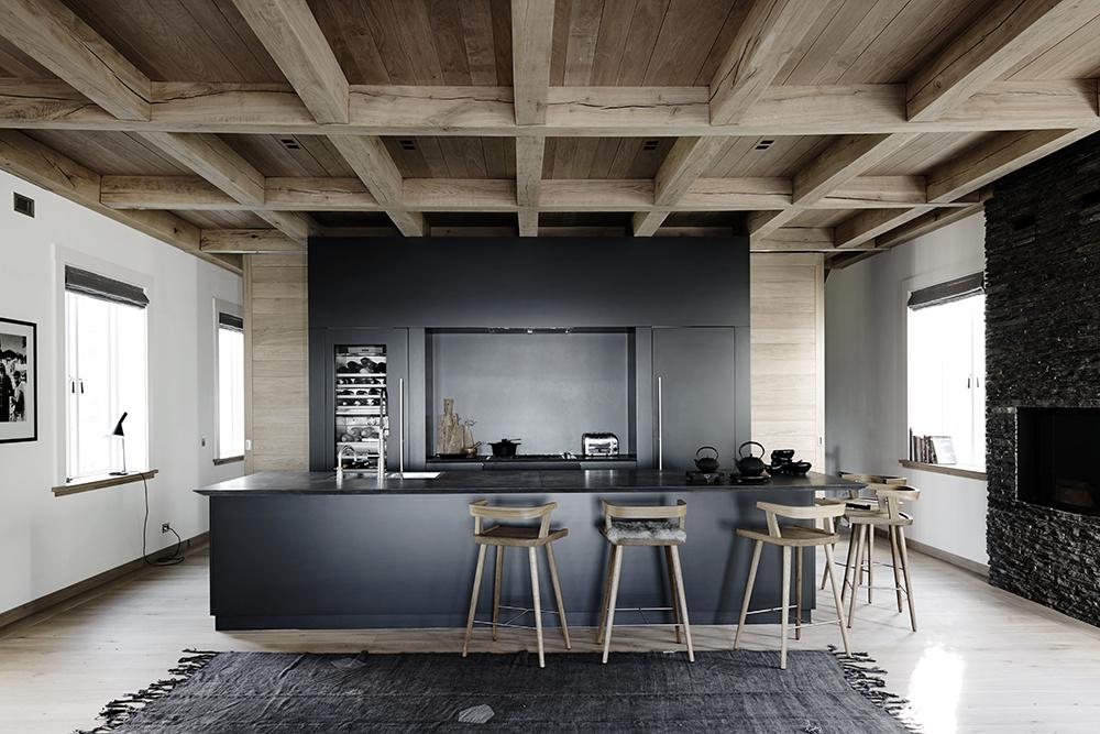 Кухни на даче: 25 интерьеров (галерея 0, фото 0)