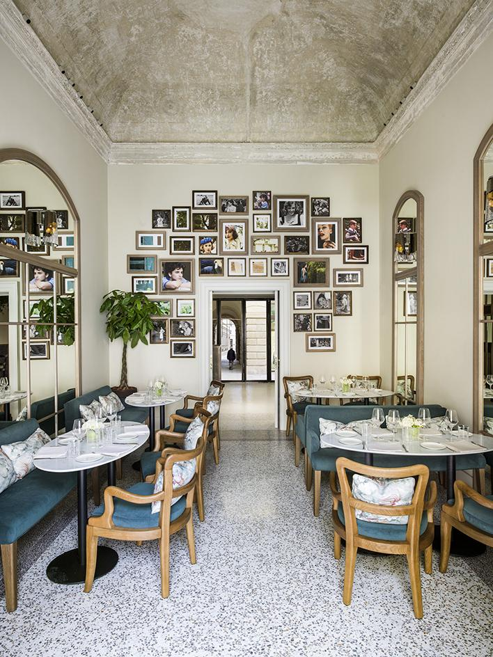 Миланский ресторан в двухсотлетней вилле (фото 1)