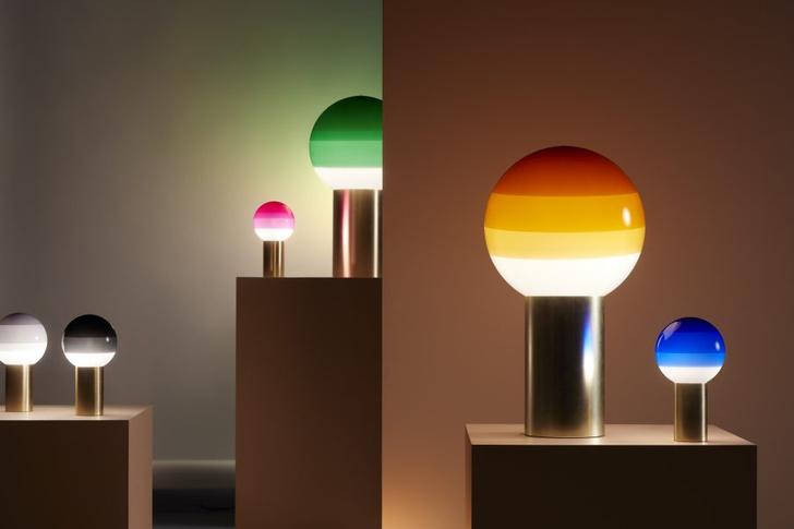 Лампы с градиентом Dipping Light от Marset (фото 2)