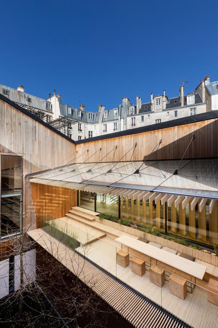 Кенго Кума переделал парижский дом Кензо Такады (фото 21)