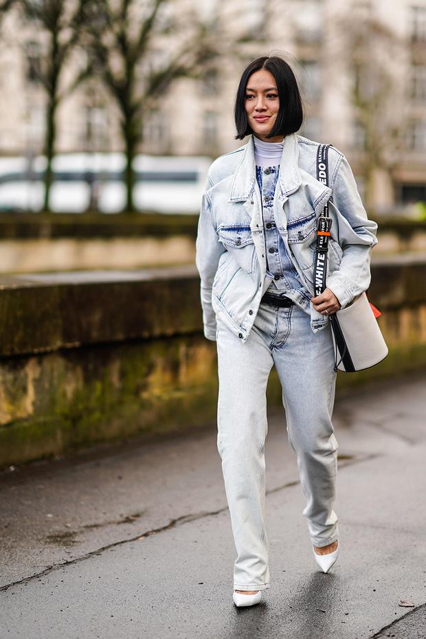 Уроки стритстайла: весенние образы в джинсах-варенках (фото 1)