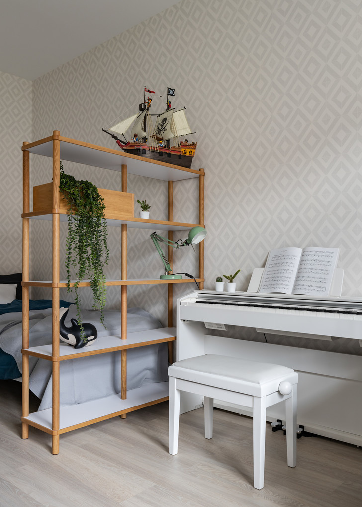 Скандинавская квартира 88 м² в Санкт-Петербурге (фото 13)