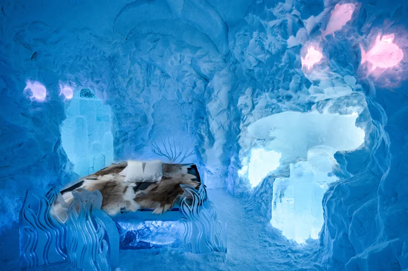 В Швеции открылся ледяной отель (галерея 6, фото 0)