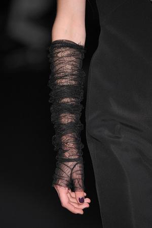 Показ Karl Lagerfeld коллекции сезона Осень-зима 2009-2010 года prêt-à-porter - www.elle.ru - Подиум - фото 99122
