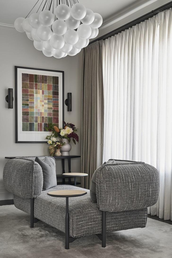 Оттенки серого: интерьер дома в Чикаго (фото 0)