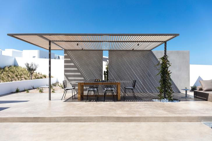 Белоснежная вилла на Санторини от Kapsimalis Architects (фото 6)