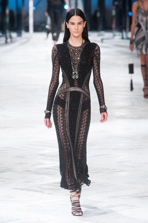 Показы мод Roberto Cavalli Весна-лето 2014 | Подиум на ELLE - Подиум - фото 3623