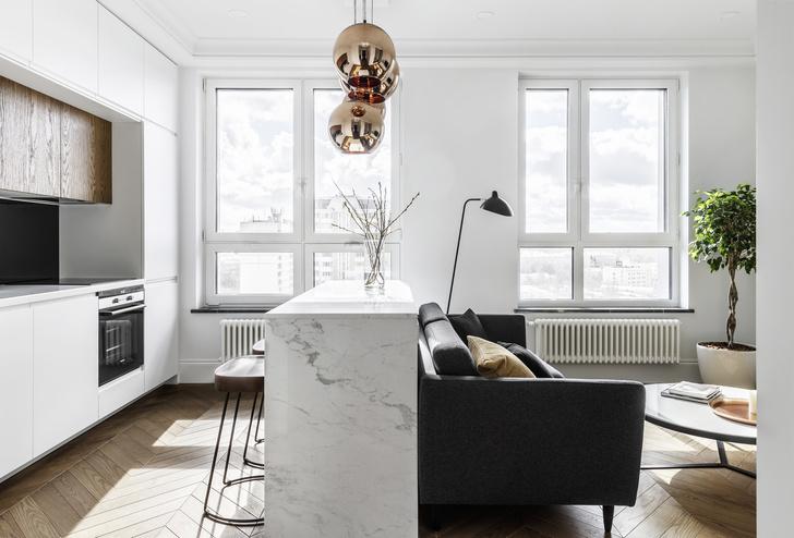 Квартира 34 кв. м: проект мастерской Geometrium (фото 7)