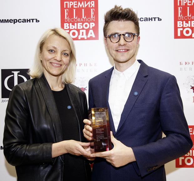 ELLE DECORATION вручил премию «Выбор года» 2016 (фото 26)