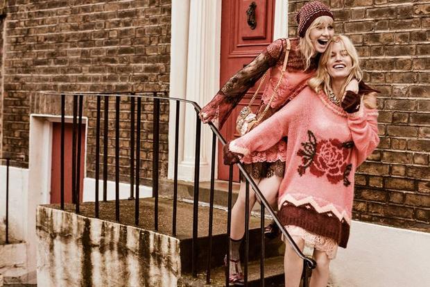 Невероятно красивая Джорджия Мэй Джаггер в новой рекламной кампании (фото 8)