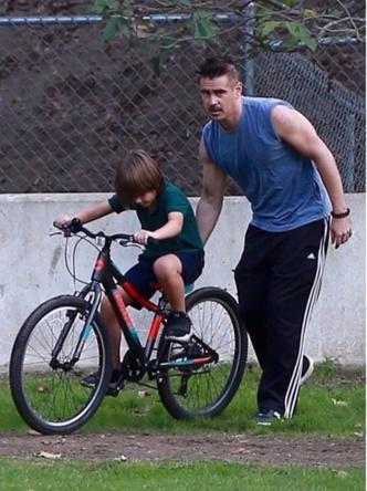 Редкий кадр: как выглядит повзрослевший сын Колина Фаррелла? (фото 2)