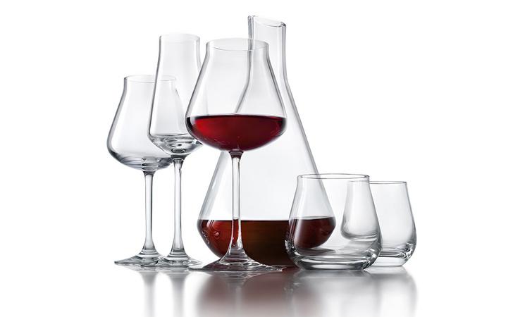 Декантер и бокалы для вина и воды, коллекция Château, хрусталь, Baccarat, www.baccarat.com, бутики Baccarat.