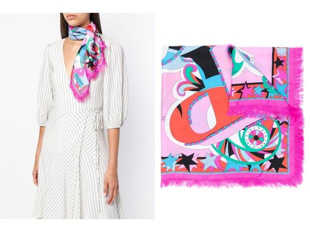 Крупным планом: шелковый платок Emilio Pucci (фото 2)