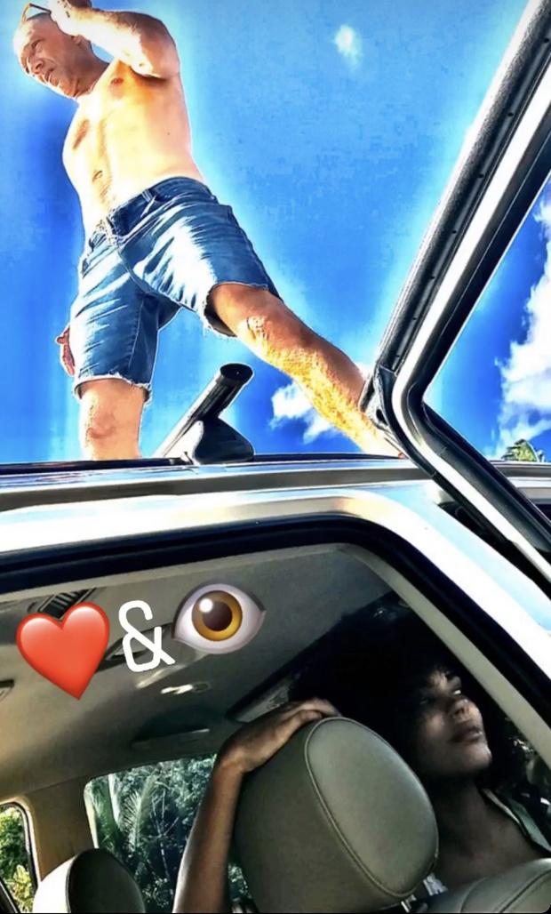 Венсан Кассель поделился редким кадром с возлюбленной — Тиной Кунаки (фото 1)