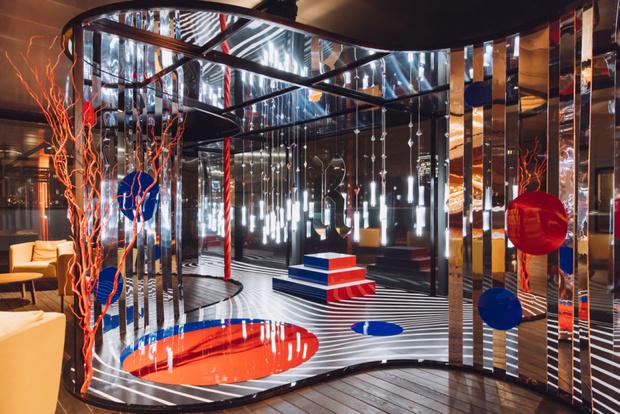 Гости коктейля в Музее современного искусства «Гараж» (фото 1)