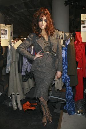 Показ Vivienne Westwood коллекции сезона Осень-зима 2009-2010 года Prêt-à-porter - www.elle.ru - Подиум - фото 100090