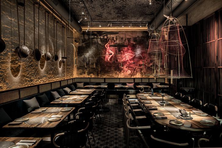 Вьетнамский ресторан в Киеве по проекту YOD Design Lab (фото 11)