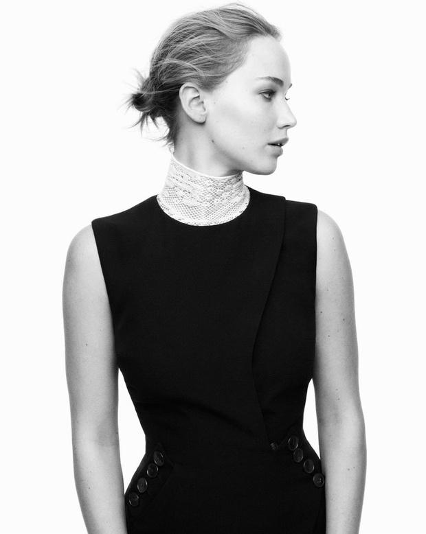 Дженнифер Лоуренс для Christian Dior
