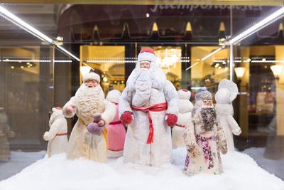Сказочные декорации новогоднего ГУМа (галерея 6, фото 1)